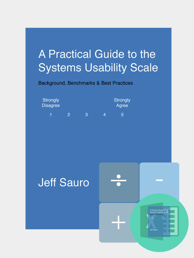 SUS Guide & Calculator Package - MeasuringU
