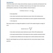 Deatiled explanations of the formulas