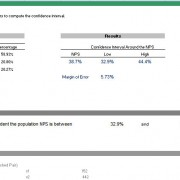 Confidence Interval for a Net Promoter Score
