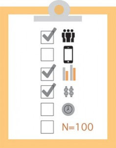 UX Benchmark Checklist