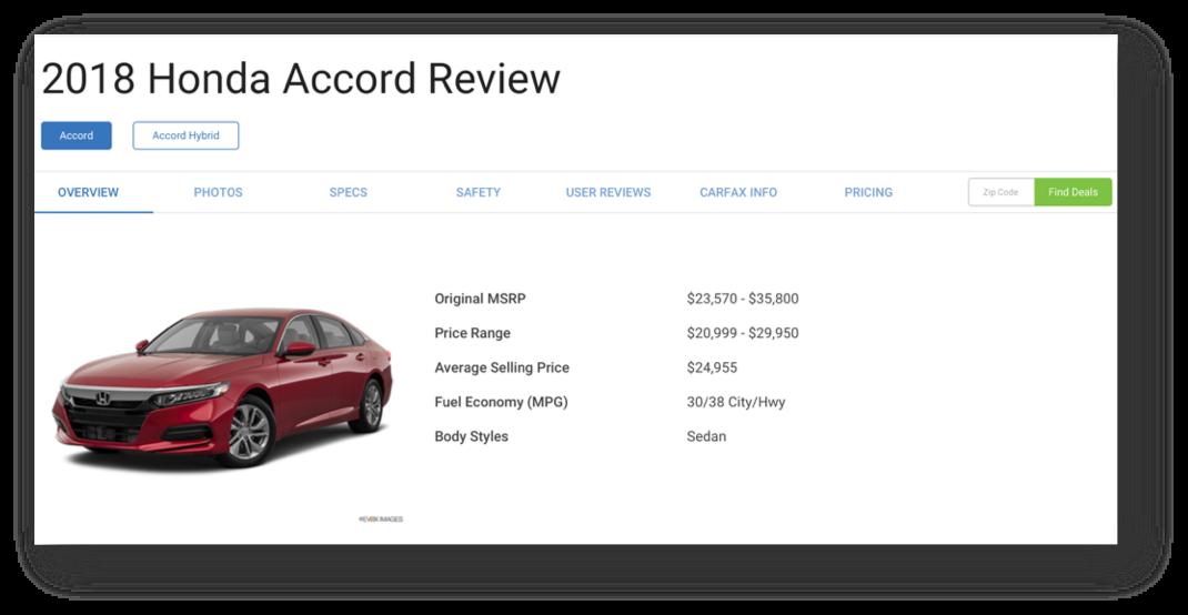 MeasuringU: The UX of Automotive Websites