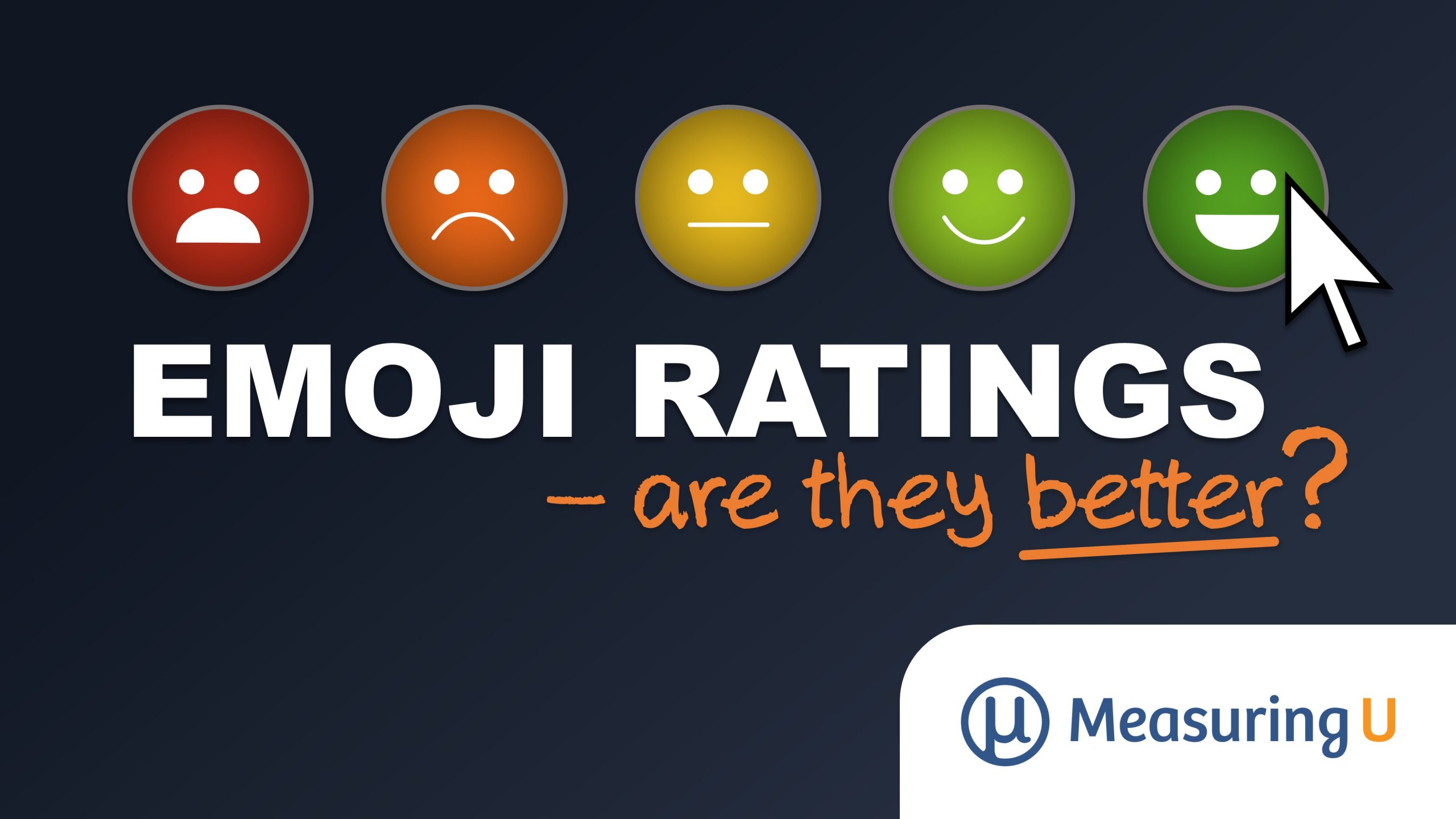 Are Face Emoji Ratings Better than Numbered Scales?
