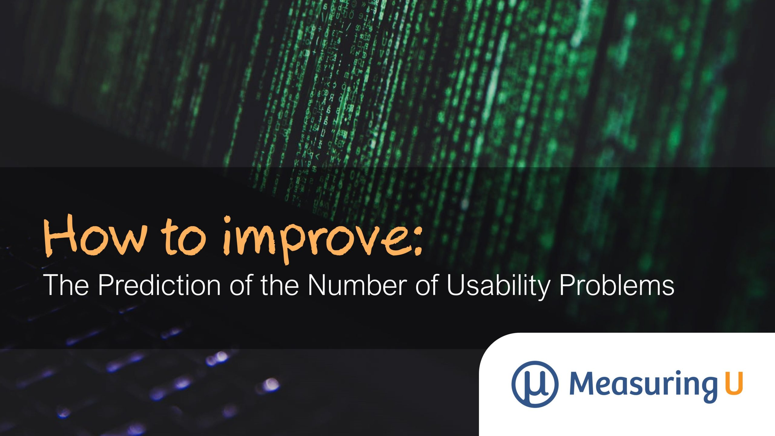 Improving the Prediction of the Number of Usability Problems