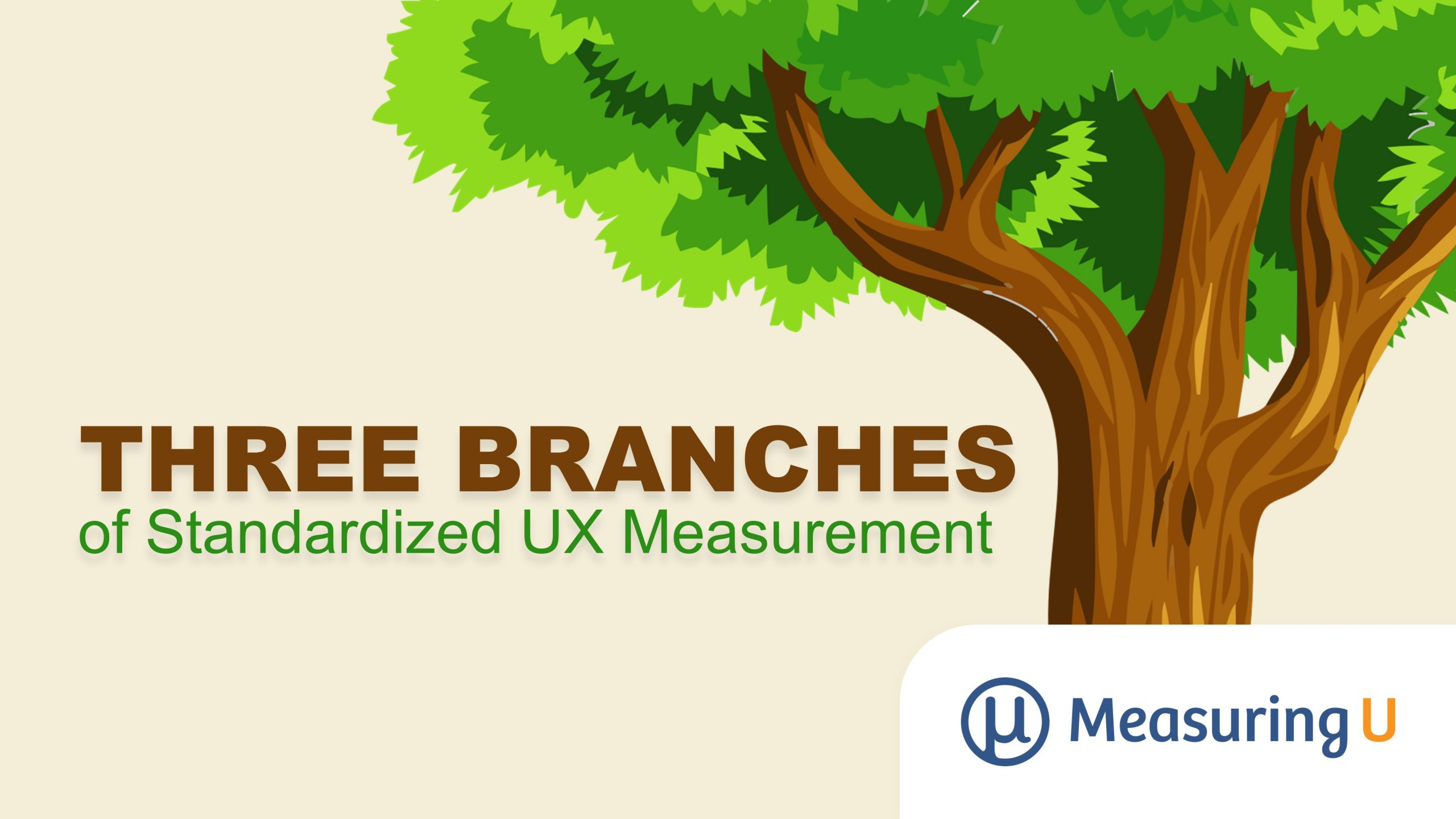 Three Branches of Standardized UX Measurement