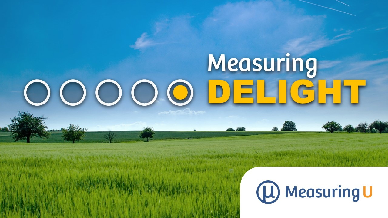 How Do You Measure Delight?