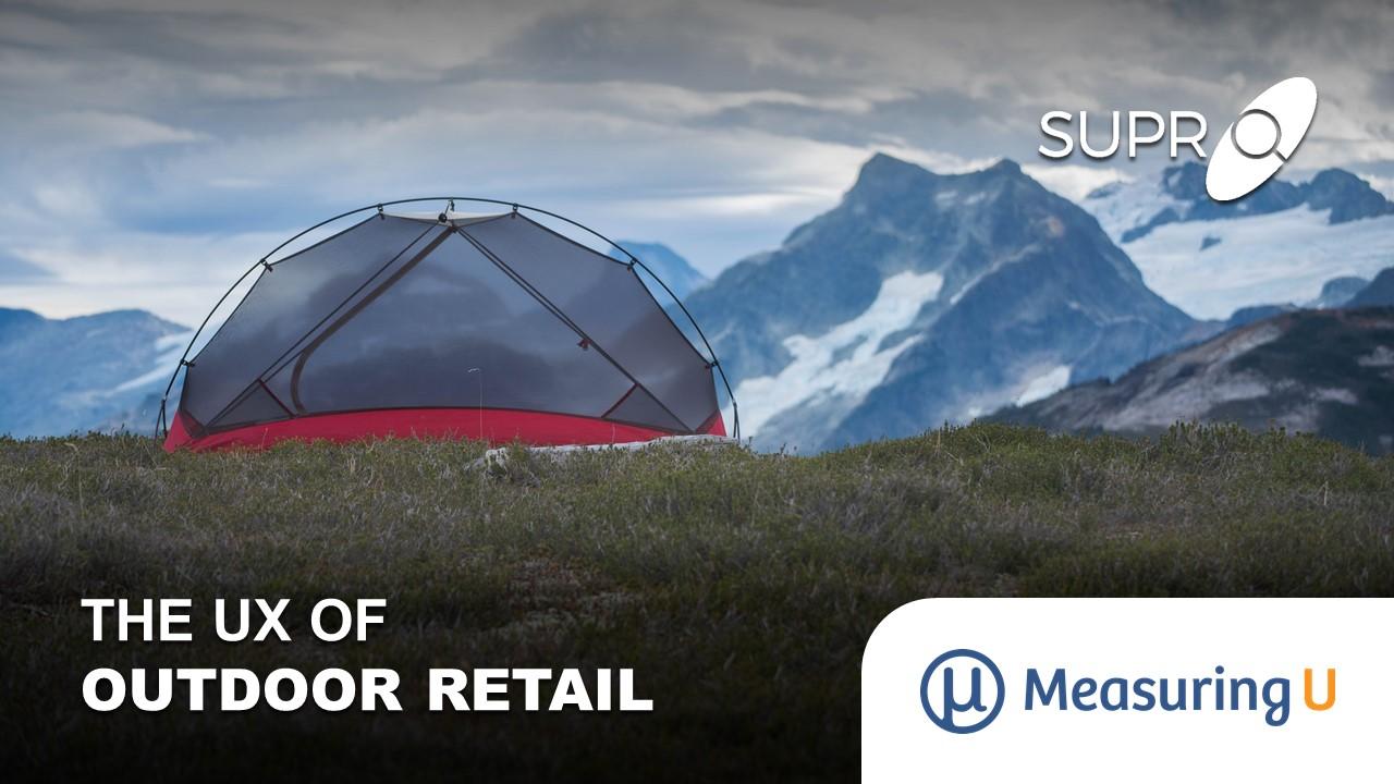 The UX of Outdoor Retail Websites