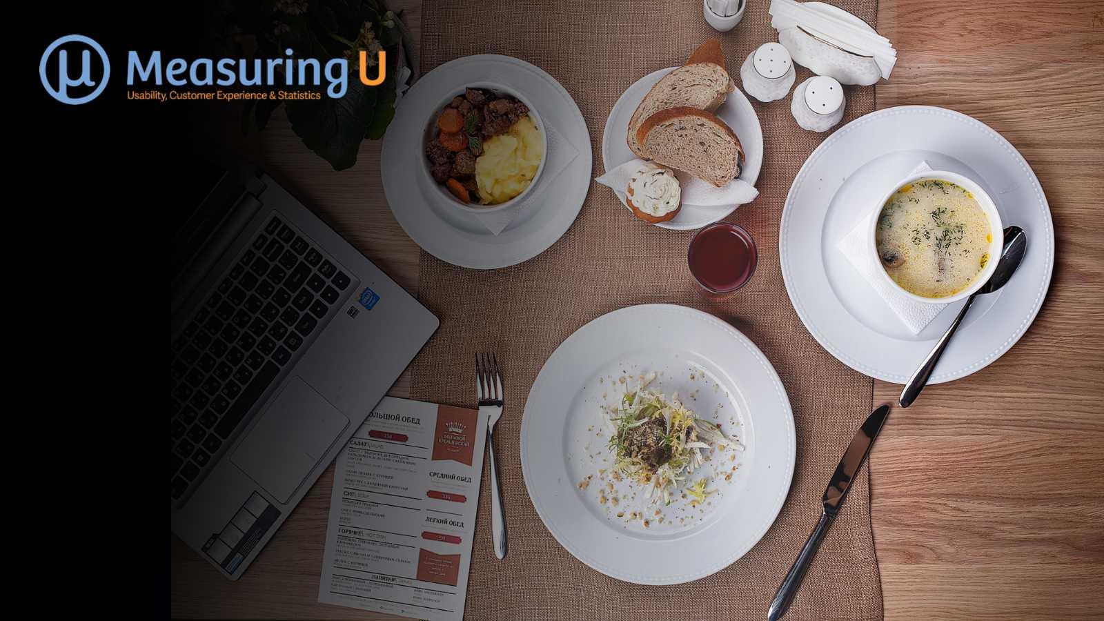 The UX of Restaurant Websites