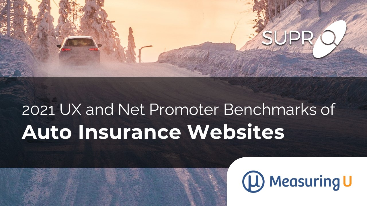 UX and Net Promoter Benchmarks of Auto Insurance Websites