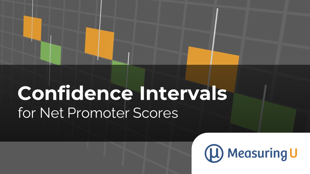Confidence Intervals for Net Promoter Scores