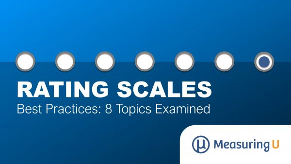Rating Scale Best Practices: 8 Topics Examined
