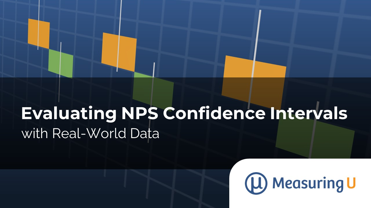 Evaluating NPS Confidence Intervals with Real-World Data