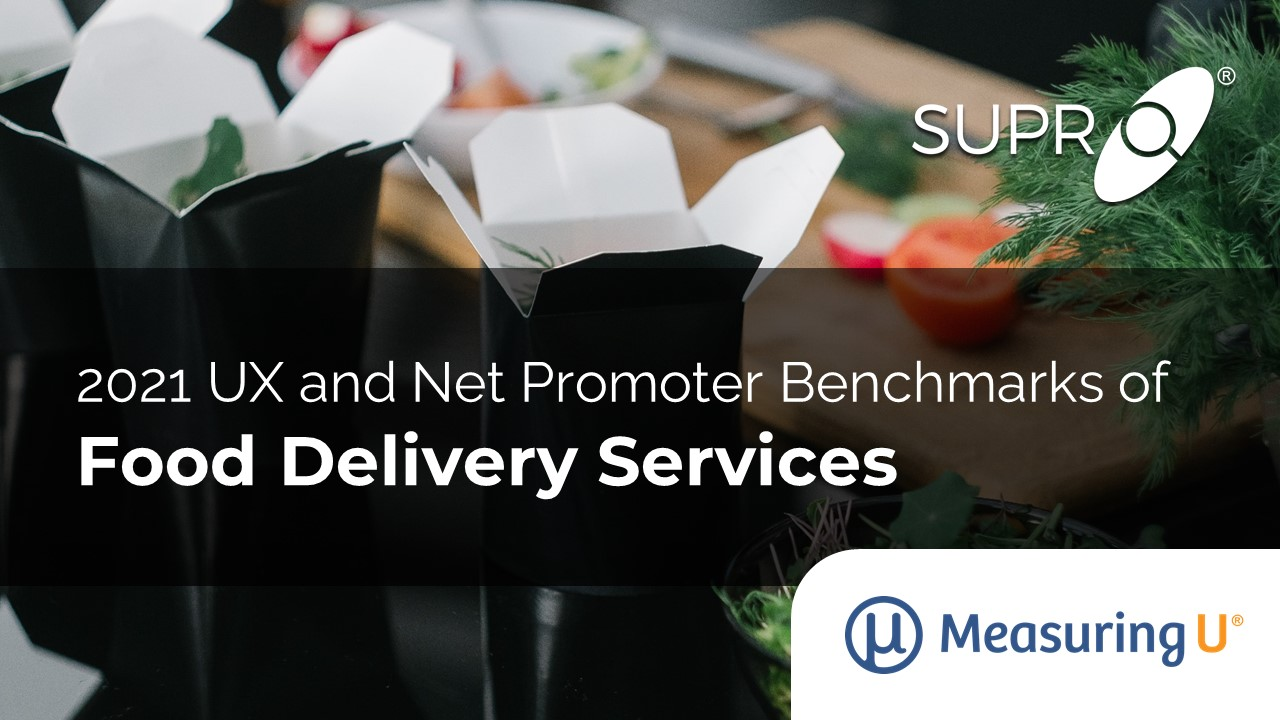 UX and Net Promoter Benchmarks of Food Delivery Services