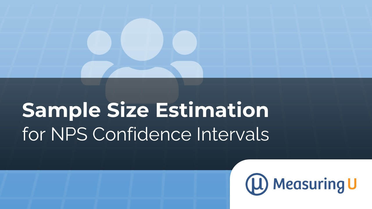 Sample Size Estimation for NPS Confidence Intervals