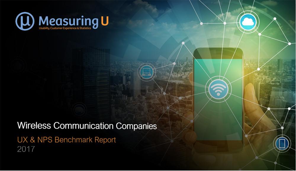 UX & Net Promoter Benchmark Report for Wireless Carrier Websites