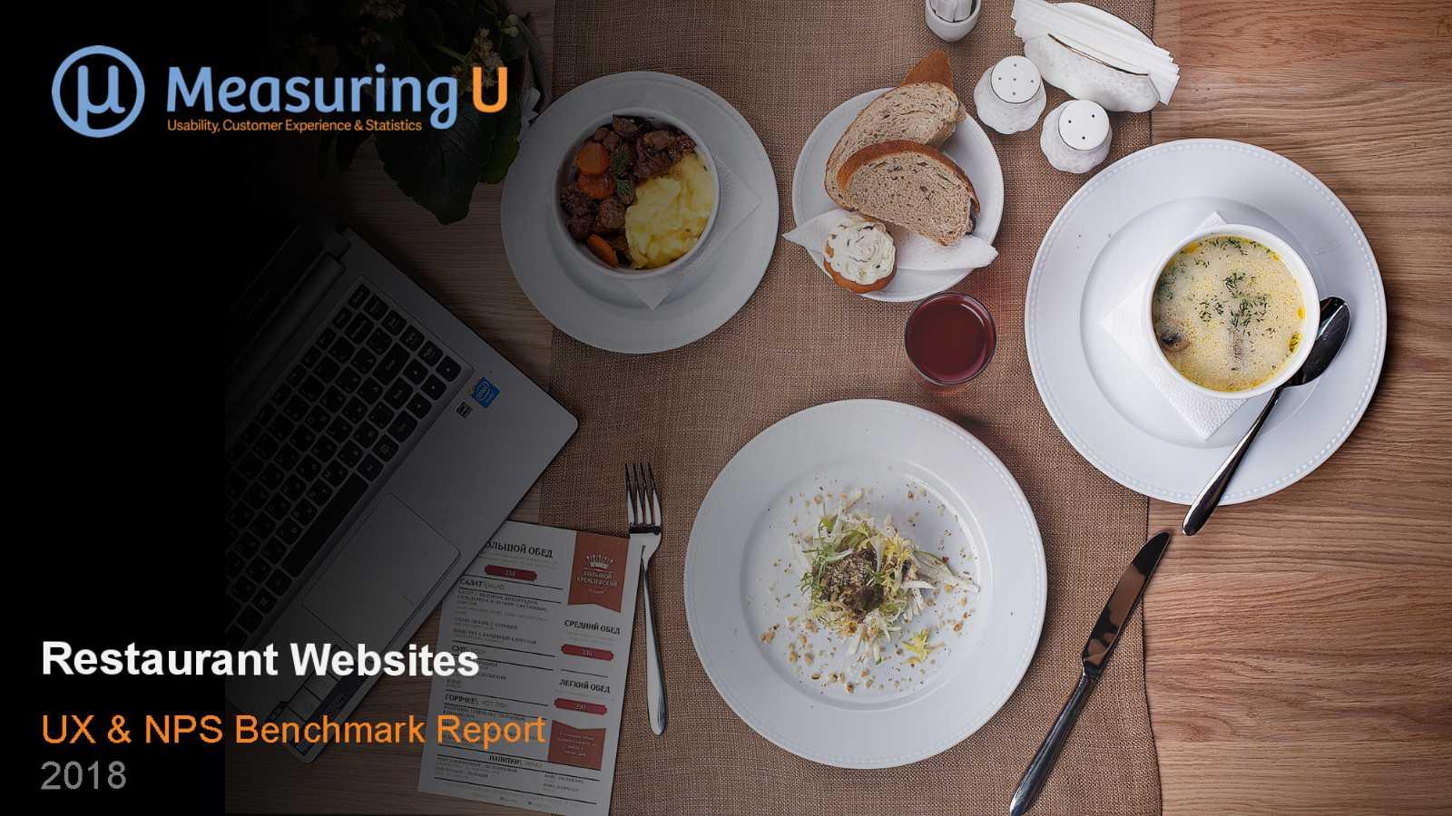 UX & Net Promoter Benchmark Report for Restaurant Websites