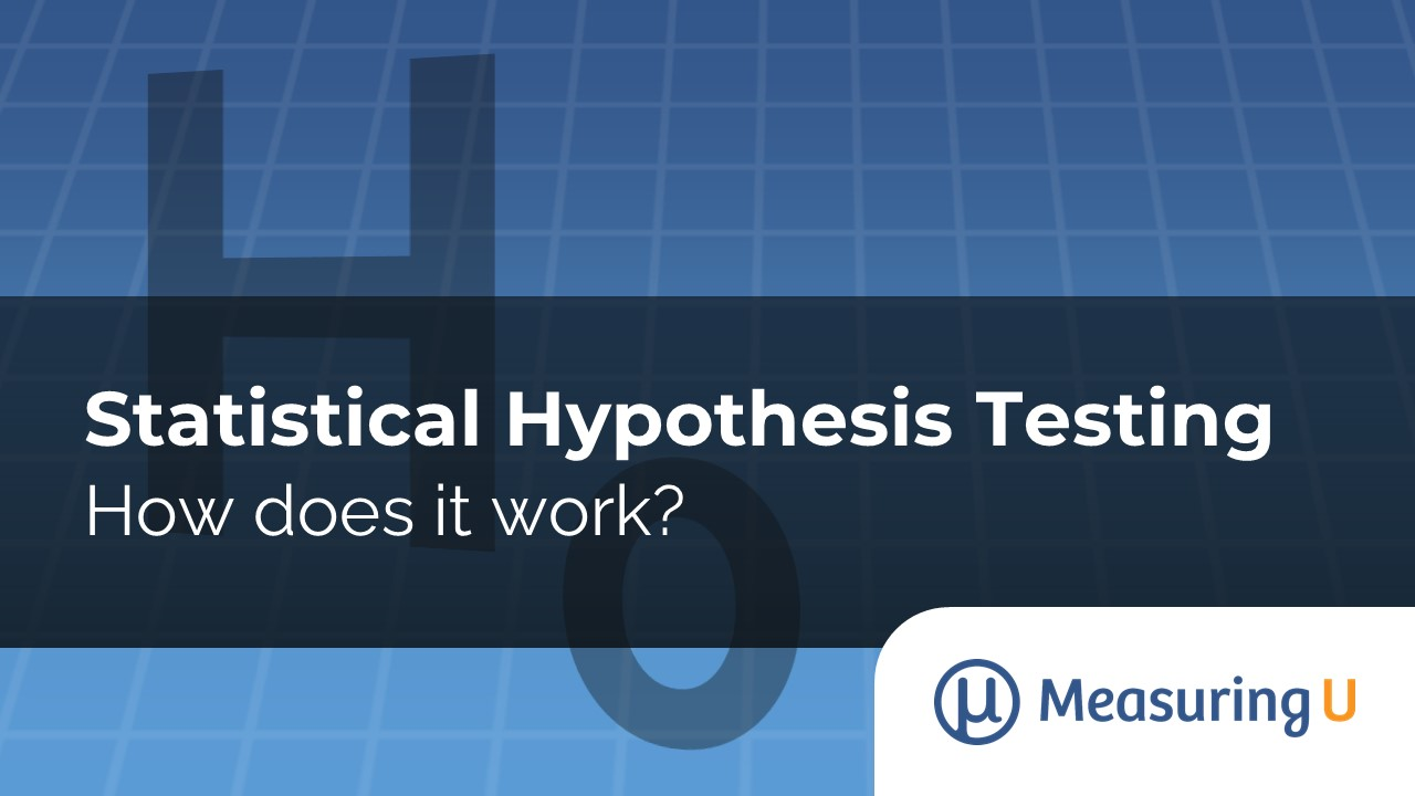How Does Statistical Hypothesis Testing Work?
